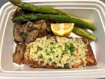 *284. Parm Cauli Crusted Salmon