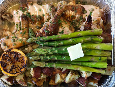 FM 07. Lemon Herb Whole Chicken with Potatoes and Veggies