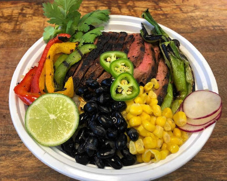 33. Steak Fajita Bowl
