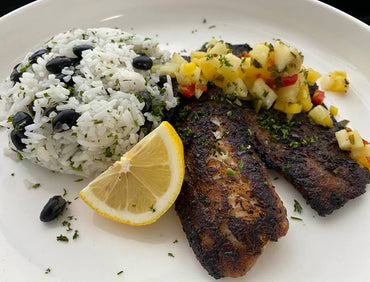 *210. Tropical Spicy Jerk Tilapia