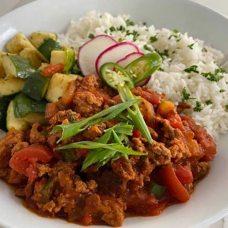09. Turkey Picadillo