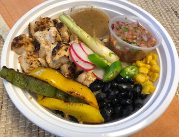 2. Chicken Fajita Bowl