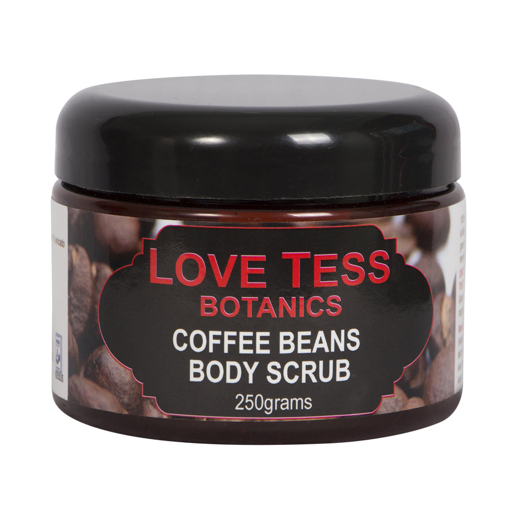 COFFEE BEANS EXFOLIATING BODY SCRUB