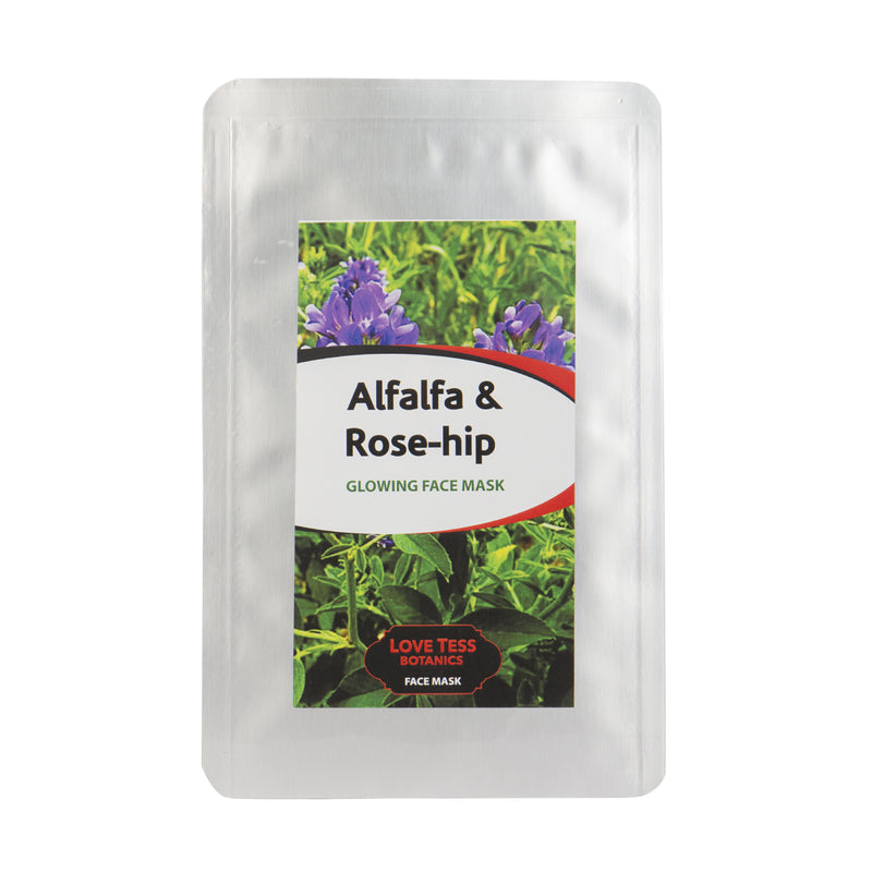 ALFALFA AND ROSE-HIP FACE MASK