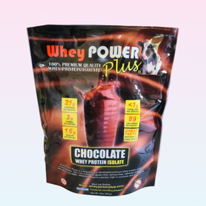 Whey Power Plus®, Whey Protein Isolate Chocolate