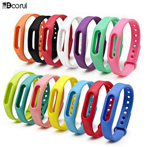 Hot  mi 1s band strap colorful mi belt strap miband Bracelet Wrist Strap pulseira Smart wristband heart rate varied  colors