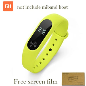 Original Xiaomi Mi Band 2 Straps Wrist Strap Belt Silicone Colorful Wristband For Mi Band 2 Accessories Smart band Accessories