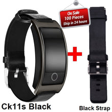 CK11S Smart Band Blood Pressure Heart Rate Monitor Wrist Watch Intelligent Bracelet Fitness Bracelet Tracker Pedometer Wristband