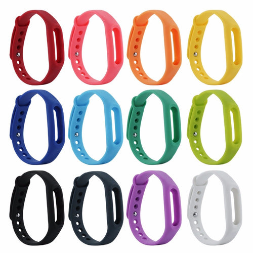 1 pcs Xiaomi mi band 2 Wrist Strap Belt Silicone Colorful Wristband for Mi Band 2 Smart Bracelet for Xiaomi Band 2 Accessorie
