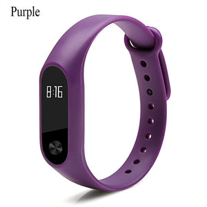 Sale Xiaomi Mi Band 2 Strap and charger For Mi Band 2 Silicone Strap Bracelet Replacement Wristband Colorful wrist Strap