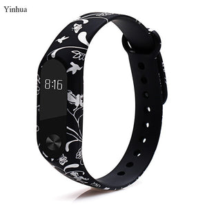2018 newest mi band 2 strap pulsera Colorful wrist strap replacement correa band 2 belt pulseira silicone straps for xiaomi mi2
