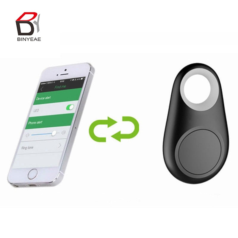 Mini Smart Bluetooth Tracer GPS Locator Alarm Wallet Finder Key Keychain Pet Dog Tracker Child Carphon phone Anti Lost Remind