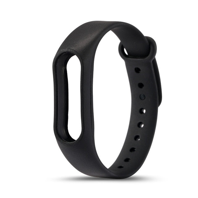 Colorful Silicone Alternative Strap for Xiaomi Mi Band 2 smart Wristband replacement Wrist band Belt
