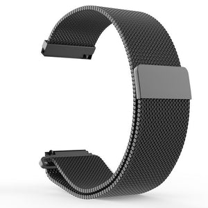 22mm Metal Stainless Strap for Xiaomi Huami Amazfit Watch Bracelet Band Milanese Loop Magnetic Straps for Amazfit Pace Stratos 2