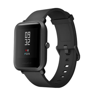 English Version Smart Watch Xiaomi Amazfit Bip Huami Mi Pace Lite IP68 GPS Gloness Smartwatch Heart Rate 45 Days Standby