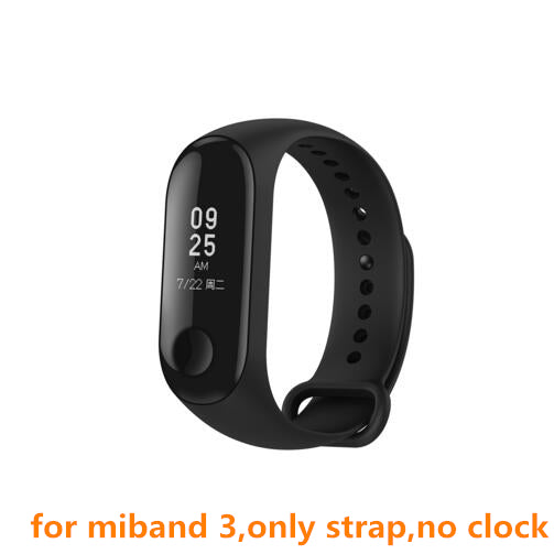 Original Xiaomi Colorful Silicone Wrist Strap Bracelet Replacement for Miband 3 Xiaomi Mi band 3 Wristbands 3