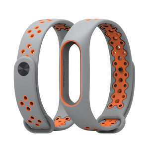 Mi Band 2 Strap wrist strap for Xiaomi mi band 2 sport Silicone Bracelet for xiaomi Mi band 2 smart watch bracelet accessories