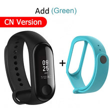 Xiaomi Miband 3 Mi Band 3 Fitness Tracker Heart Rate Monitor Smart Wristband 0.78'' OLED Display Touchpad Bluetooth 4.2 Android