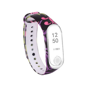 Tonbux Silicone Strap For Xiaomi Mi Band 3 Colorful Straps For Xiaomi Miband 3 Smart Bracelet Replacement Strap For Mi Band 3