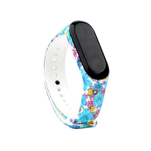 Colorful Bracelet For Xiaomi Mi Band 3 Sport Strap Watch Wrist Strap For Xiaomi Mi Band 3 Bracelet Miband 3 Wriststrap