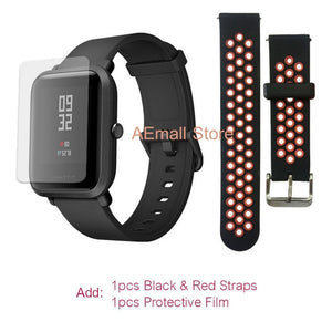 Xiaomi Amazfit Bip Smart Watch [English Version]Huami Amazfit GPS Smartwatch with IP68 Bluetooth 4.0 Heart Rate 45 Days Battery