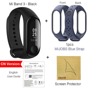 Xiaomi Mi Band 3 Miband 3 Instant Message Smart Band Watch Caller ID Waterproof OLED Touch Screen Heart Rate Monitor Bracelet