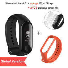 Global Version Xiaomi Mi Band 3 Smart Tracker Band 3 Xiaomi Band 3 Push Message Heart Rate Tracker Russian English Spanish Menu