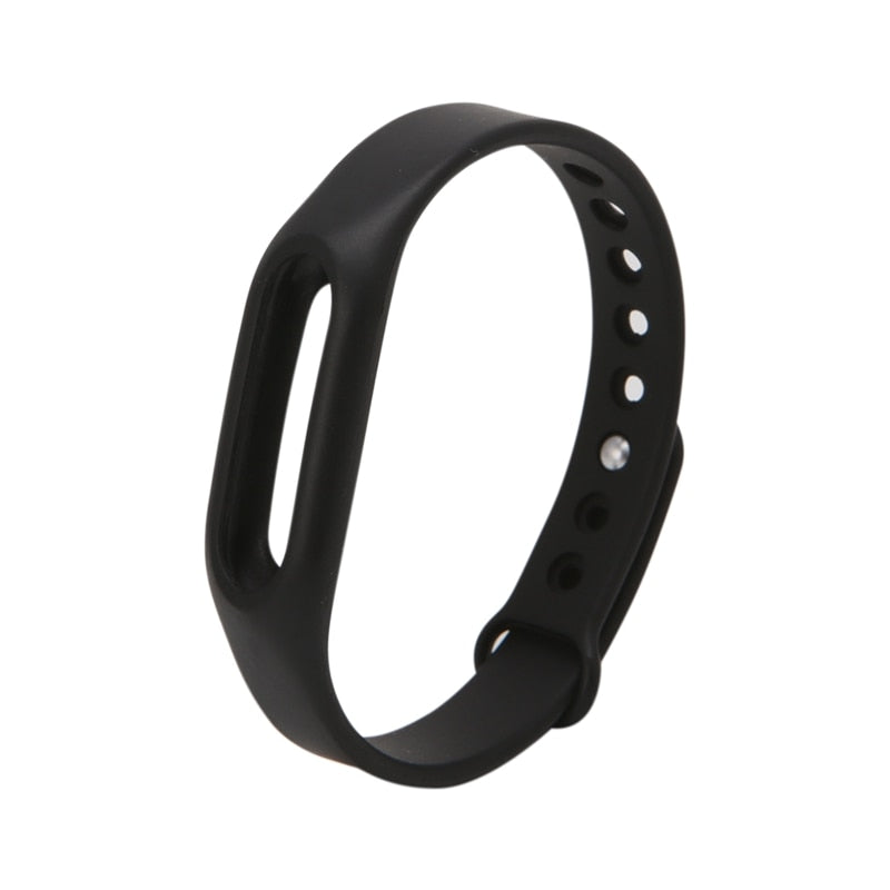 ANENG Black Silicone Wrist Band Strap Wristband Replacement Smart Watch Band For Xiaomi Mi Band 1