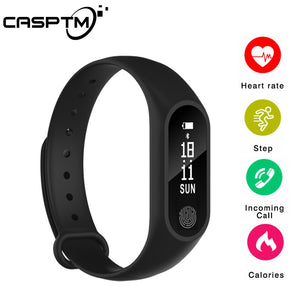 Smart Bracelet M2 Waterproof Wristband Heart Rate Monitor Fitness Tracker Bluetooth Smart Band for Android iOS Phone Smartband