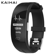 KAIHAI H66 blood pressure wrist band heart rate monitor PPG ECG smart bracelet Activit fitness tracker electronics wristband