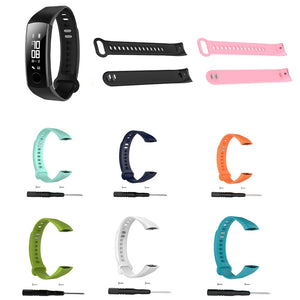 Smart Wrist Band Strap For Huawei Honor 3 Band With Repair Tool Adjustable Smart Bracelet Replacement Accessory For Honor Band 3