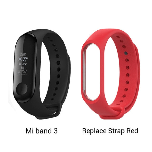 English/Spanish Xiaomi Mi Band 3 Miband 3 Fitness Tracker Heart Rate Monitor Smart Band 0.78