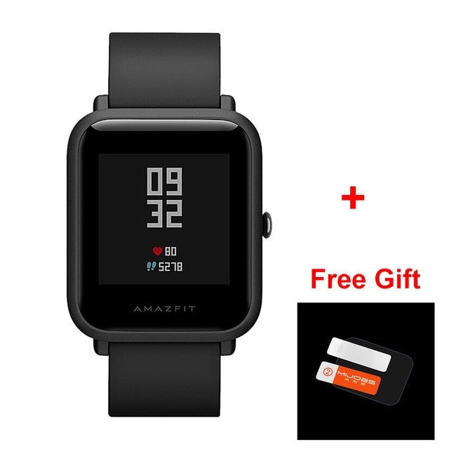 [IN STOCK] Global version Xiaomi Huami Amazfit BIP BIT PACE GPS IP68 Waterproof Youth Smart watch 1.28