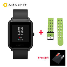 "[IN STOCK] Global version Xiaomi Huami Amazfit BIP BIT PACE GPS IP68 Waterproof Youth Smart watch 1.28"" Color Screen Smartwatch"
