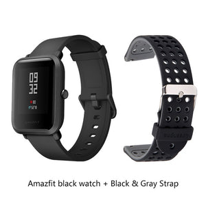 English/Russian/Spanish Amazfit Bip Smart Watch Huami Heart Rate GPS Smartwatch Pace Lite 45Days Battery Bluetooth4.0 IP68 Watch