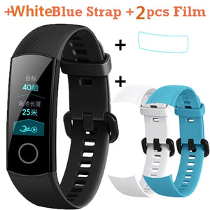In Stock! Original Huawei Honor Band 4 Standard Version Smart Wristband Touch Color Screen Heart Rate Sleep Monitor Waterproof