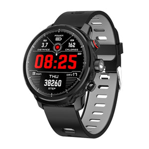 LEMFO L5 Smart Watch Men IP68 Waterproof Standby 100 Days Multiple Sports Mode Heart Rate Monitoring Weather Forecast Smartwatch