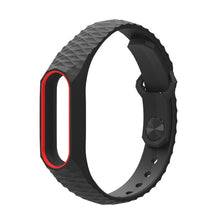 Mijobs Miband 2 Strap for Xiaomi Mi Band 2 Strap Aurora Silicone Wrist Strap for Mi band 2 Bracelet Replacement Wristbands