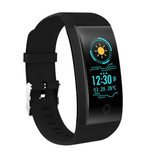 QW18 Fitness Bracelet Smart Band Pedometer Bracelet Heart Rate Monitor IP68 Waterproof Tracker Intelligent Clock PK Mi Band 3 2