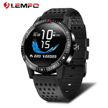LEMFO T1 Smartwatch IP67 Waterproof Wearable Device Heart Rate Monitor Color Display Smart Watch For Android IOS 30 Days Standby