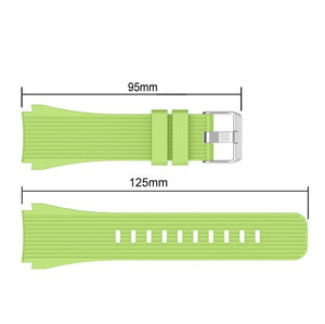 Silicone Wrist Band Strap for Samsung Galaxy Watch 46mm SM-R800/Galaxy Watch 42 SM-R810 mm Smart watch