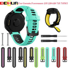 Outdoor Wristband For Garmin Forerunner 735XT 735/220/230/235/620/630 Smart Watch Soft Silicone Strap Replacement Watch Band