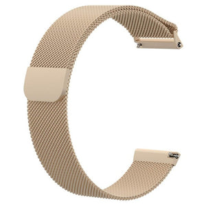 Tonbux Milanese Loop Wrist Band Strap Replacement For Fitbit Versa Watch Bracelet 210mm