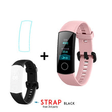 "Original new Huawei Honor Band 4 Smart Wristband Amoled Color 0.95"" Touchscreen Swim Posture Detect Heart Rate Sleep Snap"