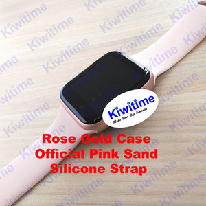KIWITIME Bluetooth Smart Watch IWO 8 1:1 SmartWatch 44mm Case for Apple iOS Android Heart Rate ECG Pedometer IWO 6 Upgrade