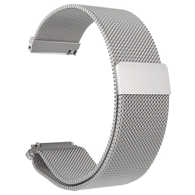 Stainless Steel Mesh Bracelet Watch Band Magnetic Watch Strap Watch Replacement For Xiaomi Amazfit Bip Youth Watch