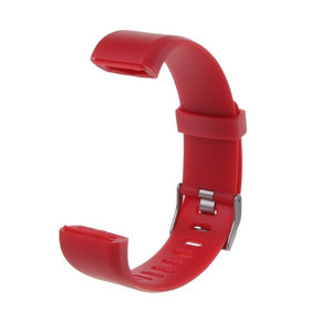 New Wrist Band Strap Replacement Silicone Smart Watch Bracelet Watchband For ID115 Plus Smart Watch