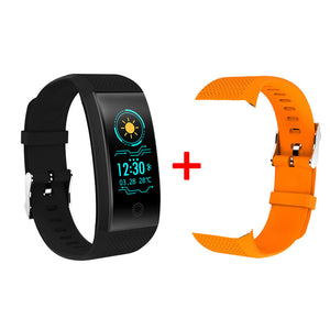 QW18 Smart Bracelet IP68 Waterproof Smartband Heart Rate Sleep Monitor Sports Passometer Fitness Tracker Bluetooth Smartwatch.