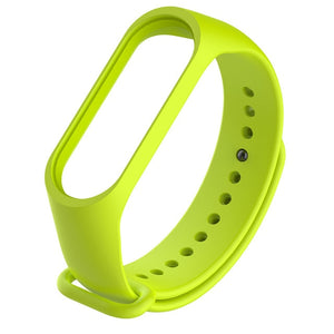 Solid color Miband 2 accessories pulseira mi band 2 3 strap replacement silicone wriststrap for xiaomi mi 3 2 mi2 smart bracelet