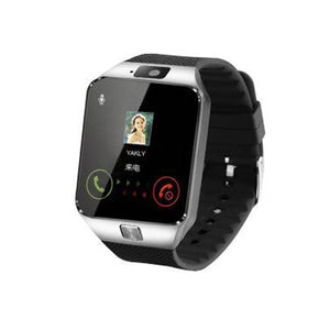Original Smart Watch DZ09 Sim Smartwatch With Call Message Camera Pedometer Bluetooth Watch For IOS Android 1.54 Inch Screen
